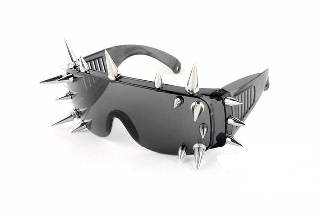 Goddess of Spikes Sunglasses 21 Rivets 1 - Cradle Of Goth
