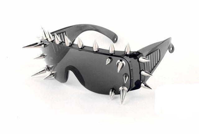 Goddess of Spikes Sunglasses 25 Rivets 3 - Cradle Of Goth