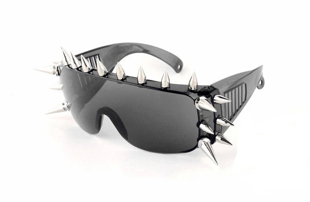 Goddess of Spikes Sunglasses 21 Rivets 4 - Cradle Of Goth