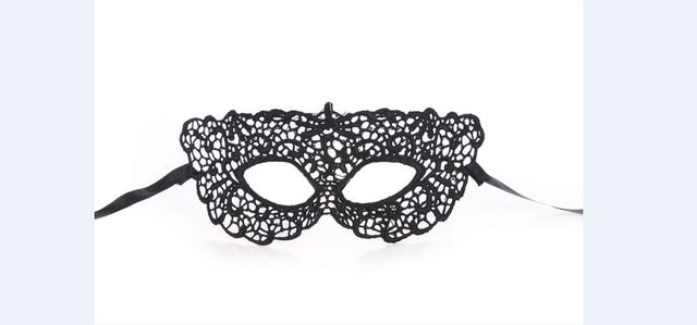 Mysterious Lady Face Mask 12 Zorro - Cradle Of Goth