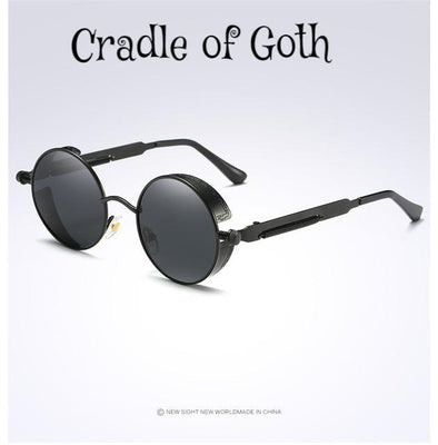 Black Polarized Sunglasses Default Title - Cradle Of Goth