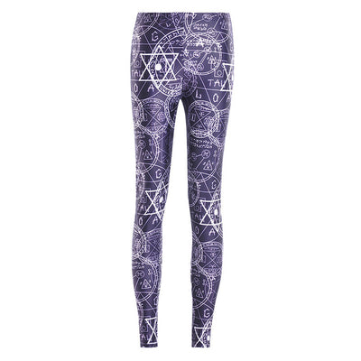 Mystery Leggings (Plus sizes available) 3654 / S - Cradle Of Goth