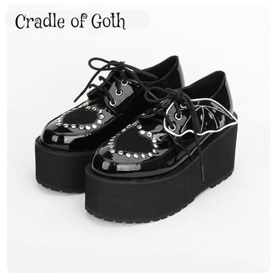 Batty Lolita Platforms  - Cradle Of Goth