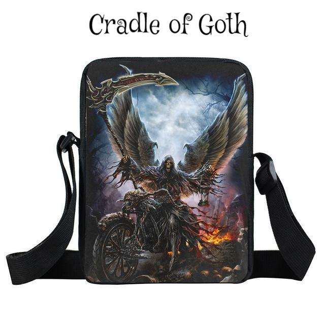 Dark Angel Rider Bag Default Title - Cradle Of Goth