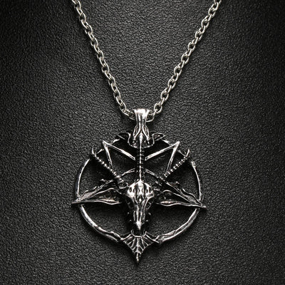 Pentagram Necklace  - Cradle Of Goth