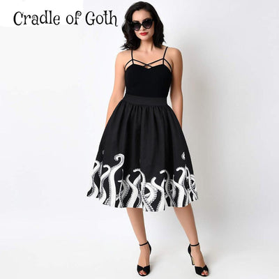 Tentacles from Beyond Skirt  - Cradle Of Goth
