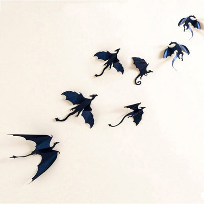 Seven Dragons Wall Stickers  - Cradle Of Goth