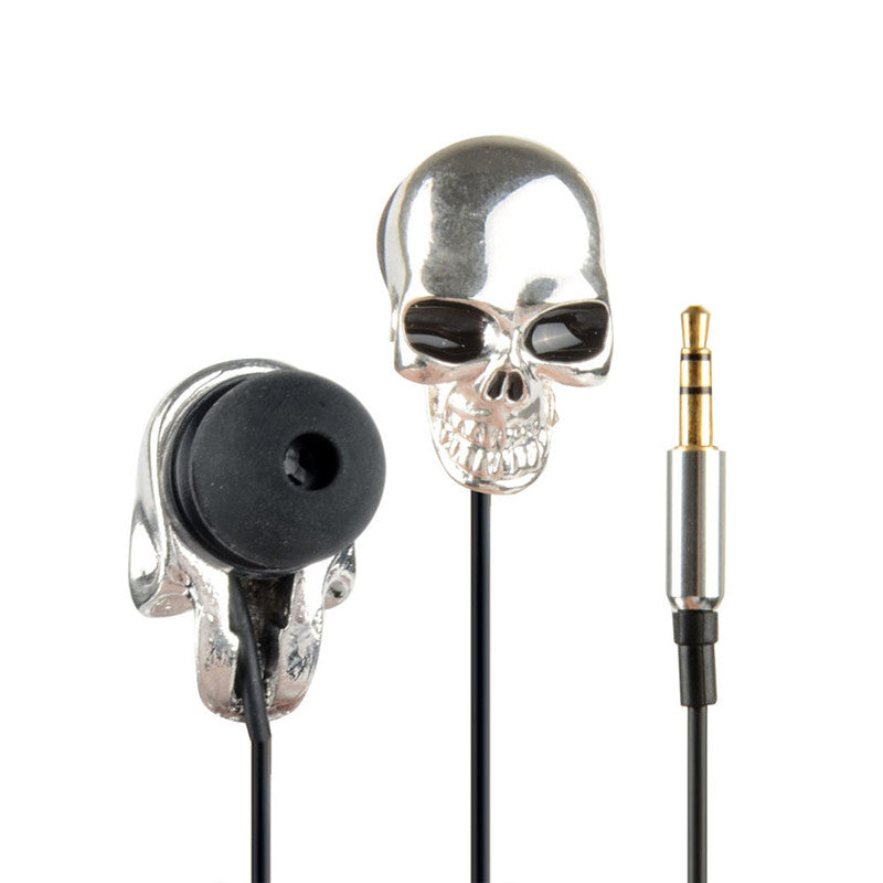 Skull Ear-phones  - Cradle Of Goth