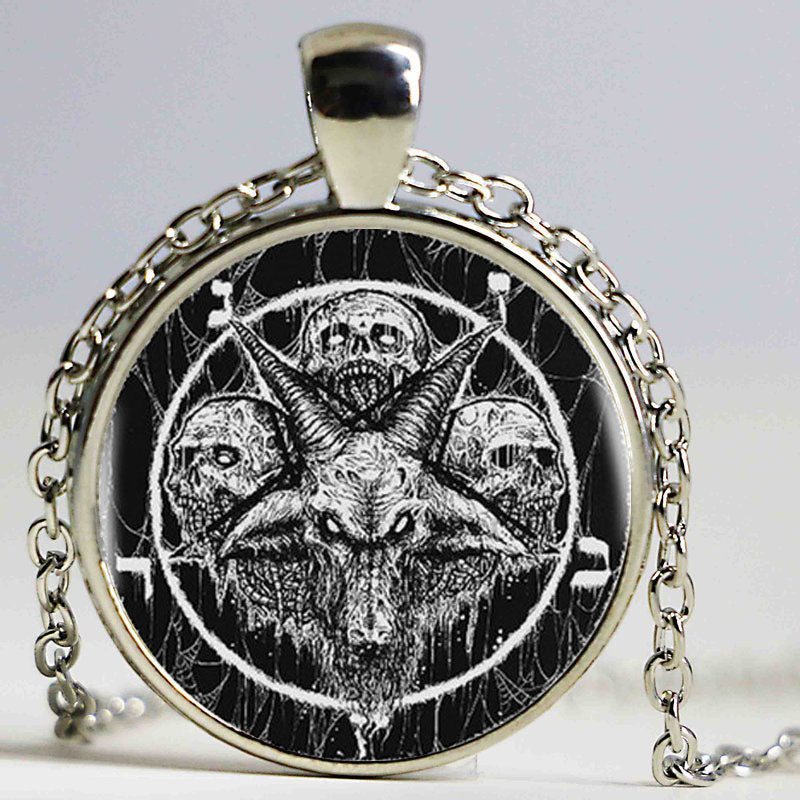Satan's Worshipers Necklace  - Cradle Of Goth