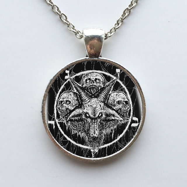 Satan's Worshipers Necklace 5 - Cradle Of Goth
