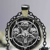 Satan's Worshipers Necklace 6 - Cradle Of Goth