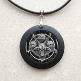 Satan's Worshipers Necklace 9 - Cradle Of Goth