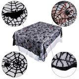 Spiderweb Long Tablecloth  - Cradle Of Goth