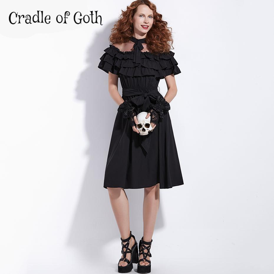 Vintage Queen Dress (plus size available)  - Cradle Of Goth