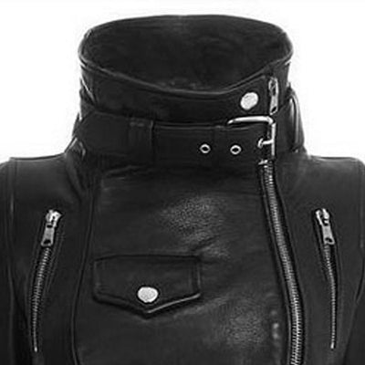 Divine Villain Jacket (Vegan Leather)  - Cradle Of Goth