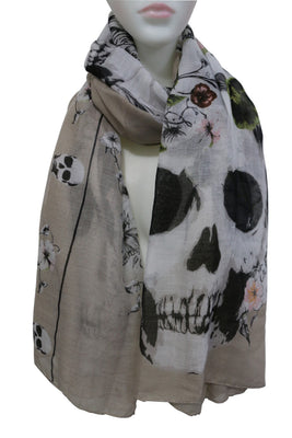 Deadly Roses Scarf  - Cradle Of Goth