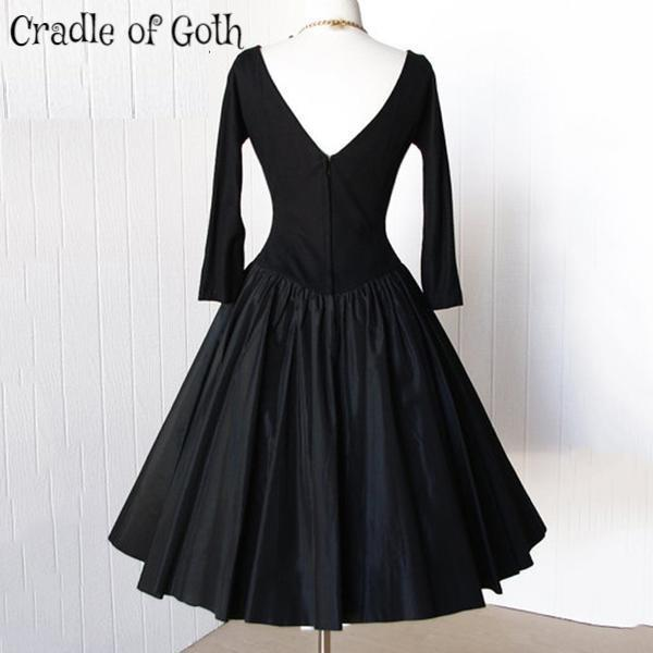Vintage Goth Dress  - Cradle Of Goth