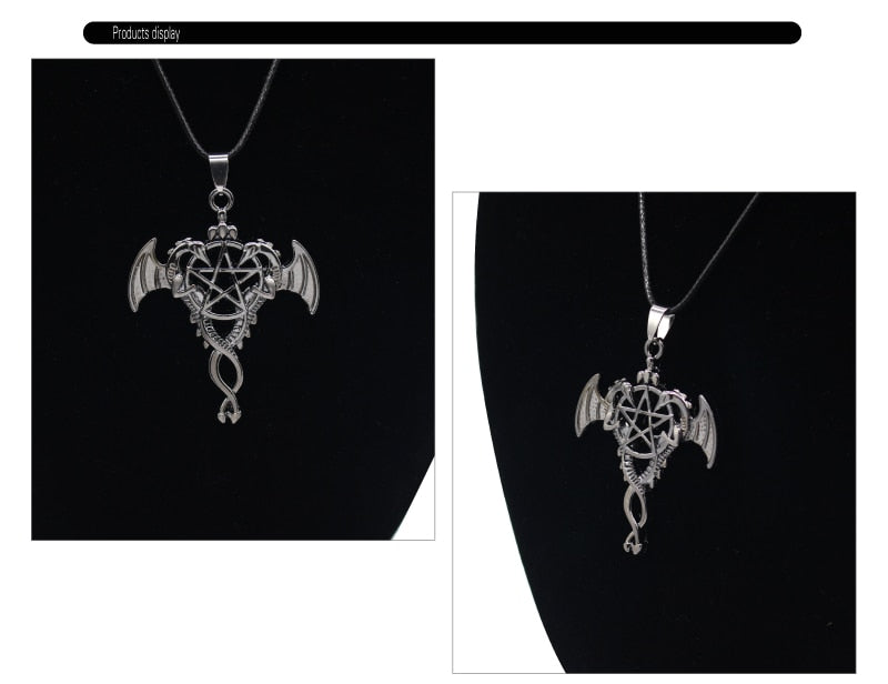 Dragons from Beyond Necklace  - Cradle Of Goth