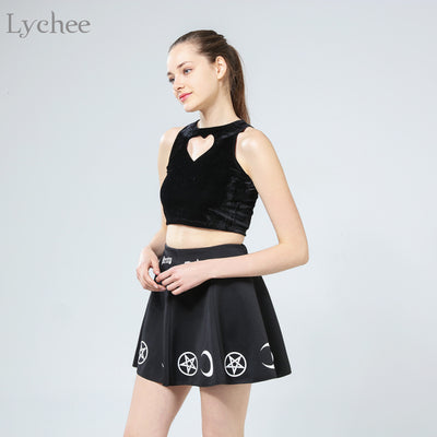 Witch Moon Skirt  - Cradle Of Goth