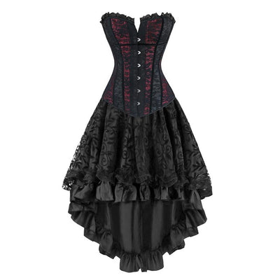 Gothic Burlesque Dress  - Cradle Of Goth