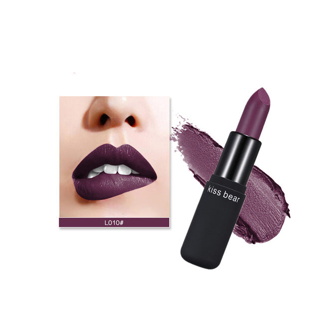 Purple Lipstick Default Title - Cradle Of Goth