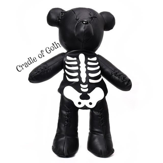 Bear from Beyond Bag Black - Cradle Of Goth