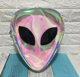 Alien Head Backpack transparent - Cradle Of Goth