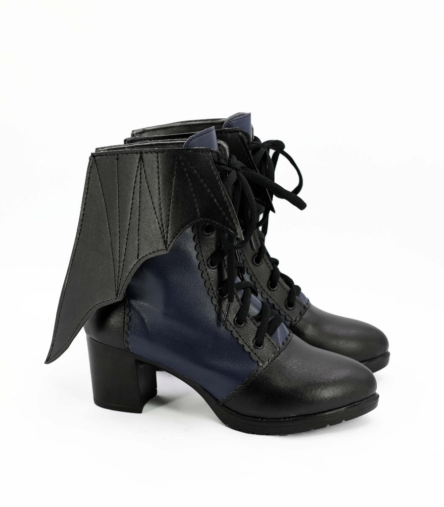 Vampire Boots (Vegan Leather, Male and Female available)  - Cradle Of Goth