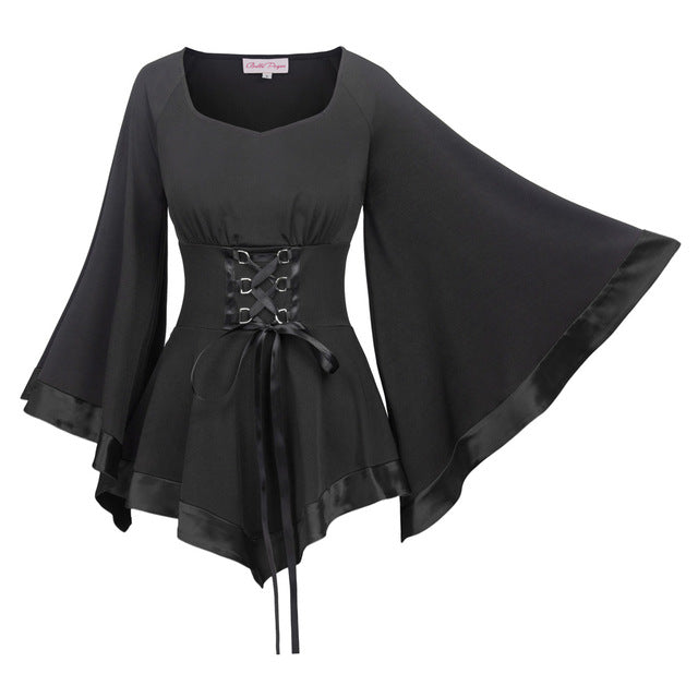Gothic Enchantress Blouse 1 Gothic Tops / L - Cradle Of Goth