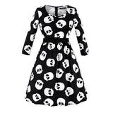 Little Miss Death Dress Black / S - Cradle Of Goth