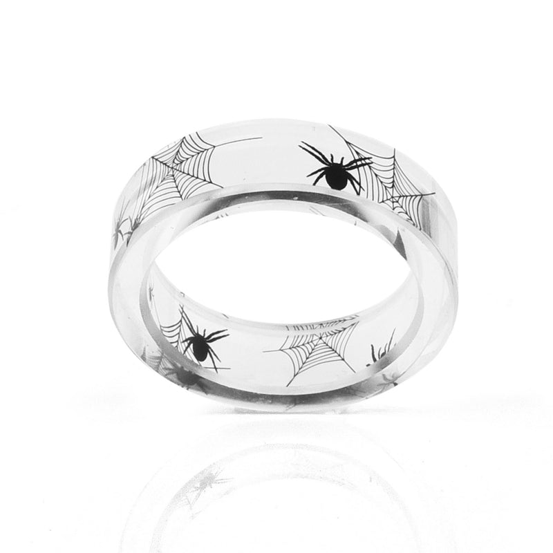 Black Widow Ring  - Cradle Of Goth