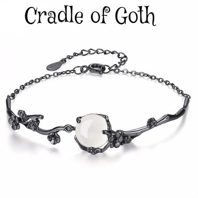 Sorceress's Crystal Bracelet  - Cradle Of Goth