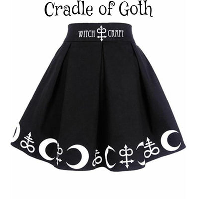 Witchcraft Skirt  - Cradle Of Goth