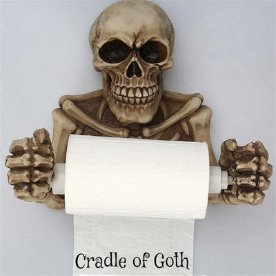 The Death Grip Toilet Paper Holder  - Cradle Of Goth