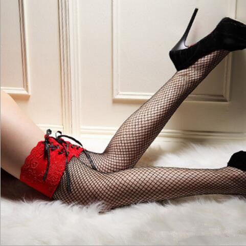 Lace Knee Socks 003 - Cradle Of Goth