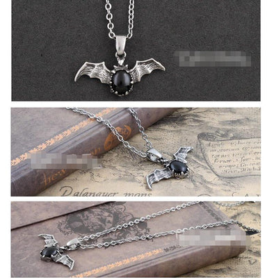 Bat necklace  - Cradle Of Goth