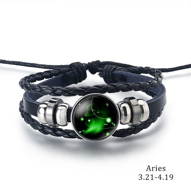 Constellation Bracelet Aries - Cradle Of Goth