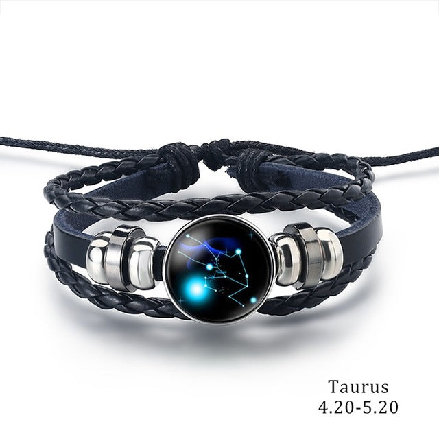 Constellation Bracelet Taurus - Cradle Of Goth