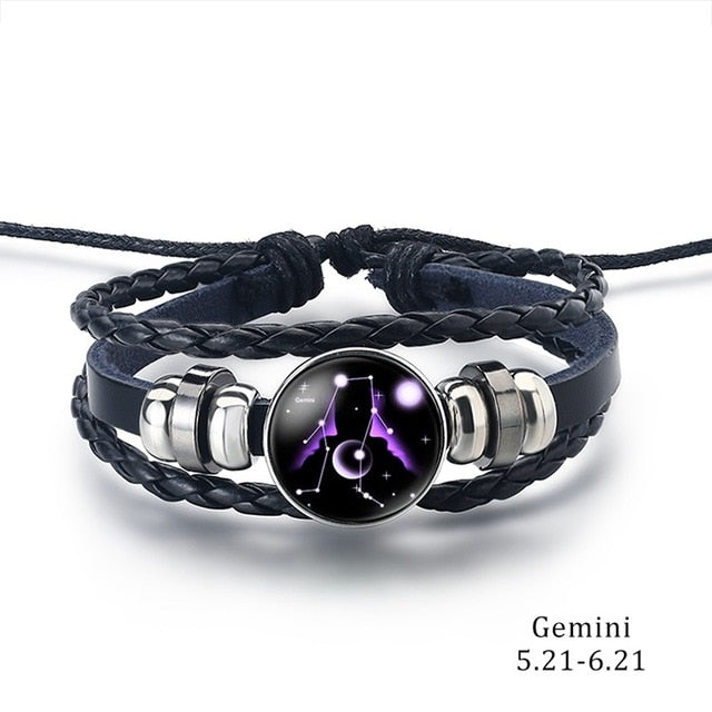 Constellation Bracelet gemini - Cradle Of Goth