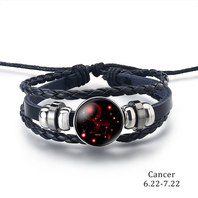 Constellation Bracelet cancer - Cradle Of Goth