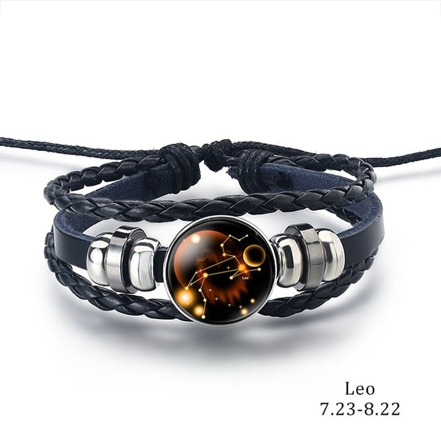 Constellation Bracelet leo - Cradle Of Goth