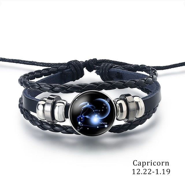 Constellation Bracelet capricorn - Cradle Of Goth