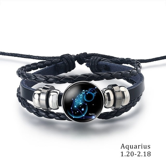 Constellation Bracelet aquarius - Cradle Of Goth