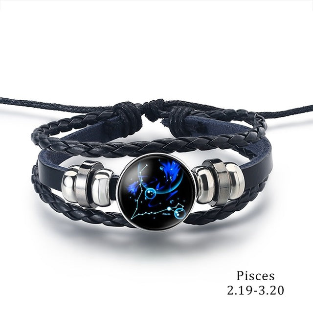 Constellation Bracelet pisces - Cradle Of Goth
