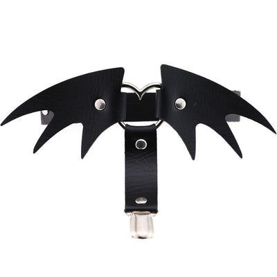 Bat Wings Garter  - Cradle Of Goth