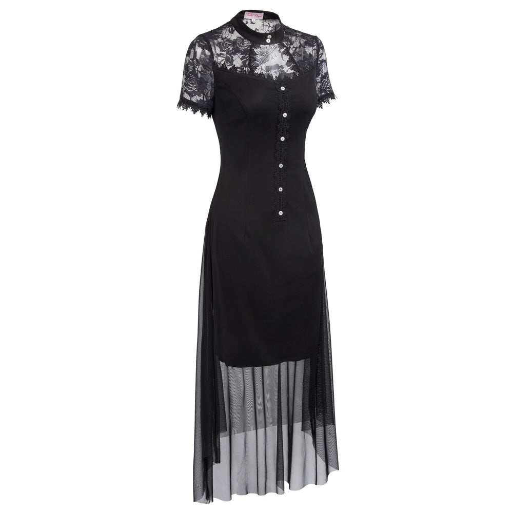 Elegant Temptress Dress  - Cradle Of Goth