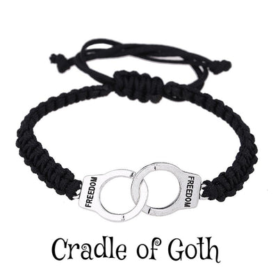 Handcuffs Bracelet  - Cradle Of Goth