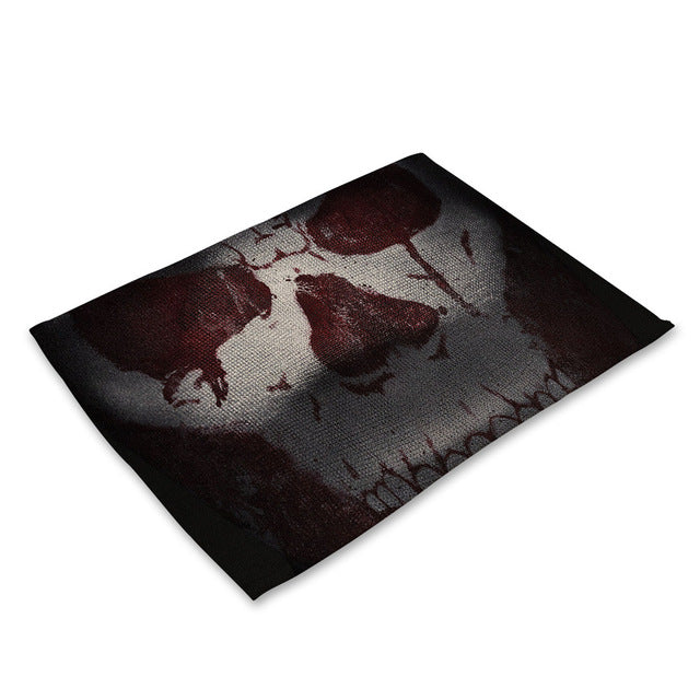 Table Mats of Horror Pattern 21 - Cradle Of Goth