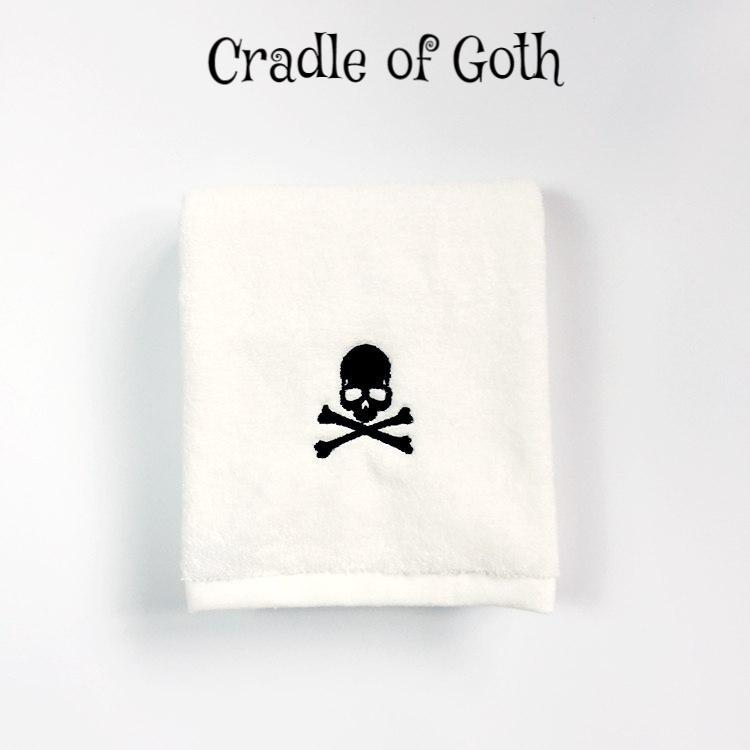 Skull Towel  - Cradle Of Goth