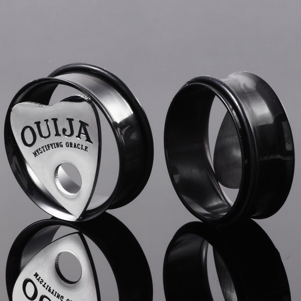Ouija Plugs (10mm-30mm)  - Cradle Of Goth